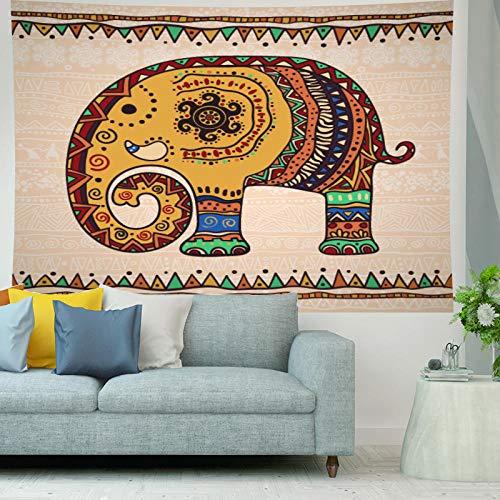 HNFY Como sábanas, manteles, toallas de playa. Tapiz decorativo para colgar en la pared. Edad de los dinosaurios jurásicos Tapiz de mandala indio_180cm*300cm