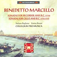 Sonatas For Recorder & Basso C by BENEDETTO MARCELLO (1996-07-09)