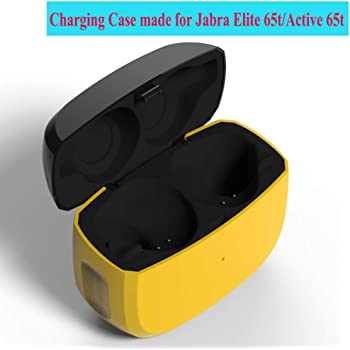 Charging Case Compatible With Jabra Elite 65t And Jabra Elite Active 65t Earbuds Protective Substitute Cover With 500mah Built In Battery Charged 4 Times Amazon Co Uk Electronics