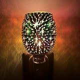 Diffusore Ambiente Mosaico Spina Elettrica In Led Diffusore Di Aromi Lampada Gypsophila Illuminazione Bruciatore A Olio Scaldato A Cera-Gypsophila-Uk Spina