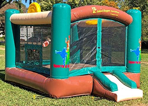 Island Hopper Heavy Duty Commercial Sports and Hops Bounce...