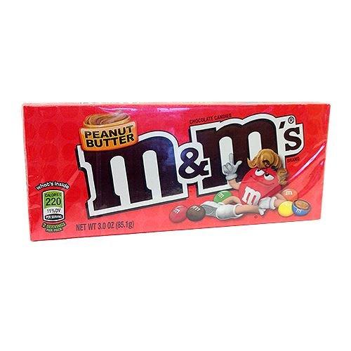 M&M Peanut Butter Theatre Box 3.2 OZ (90.7g) - mit echter Erdnussbutter