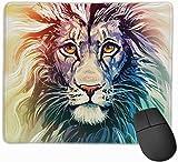 Mauspad Farbe African Lion rutschfeste gummibasis verärgert wasserdichte mauspad für Laptop, Computer, pc, Tastatur