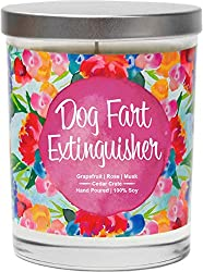 Dog Fart Extinguisher Scented Candle.