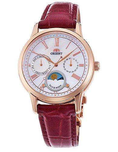 Orient Classic sol y luna cuarzo reloj rn-ka0001a Ladies
