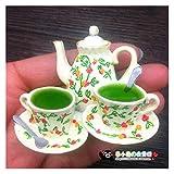 FIRMLEILEI Creativo pomeriggio Tazza di tè frigo Magnete Souvenir Adesivi 3D Frigorifero Magnete Magnete Home Decor Calamita da frigo (Color : 6)