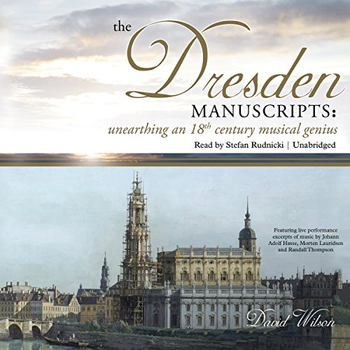 The Dresden Manuscripts audiobook cover art