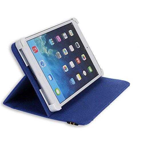 custodia universale tablet 8 pollici DANYSTAR® Custodia Cover Universale e Regolabile Fino a 8 Pollici (Blu)