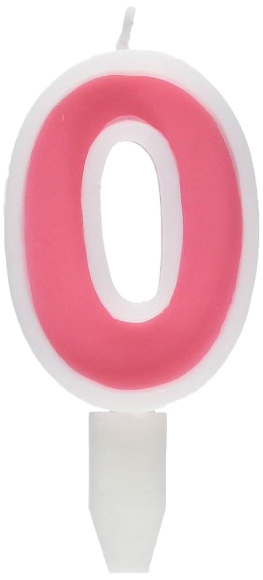 焦がす機械シーサイドナンバーキャンドルビッグ 0番 「 ピンク 」 10個セット 75510700PK