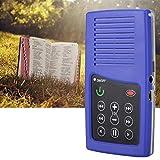 Redxiao 【𝐕𝐞𝐧𝐭𝐚 𝐑𝐞𝐠𝐚𝐥𝐨 𝐏𝐫𝐢𝐦𝐚𝒗𝐞𝐫𝐚】 Mini Lector de Libros de 350 mAh, Lector de Libros electrónicos, oyentes bíblicos portátiles Kindle Durante más de 5 Horas en(Arabic Blue)