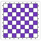 WE Games Purple Mousepad Chessboard, 20 inches - made in USA