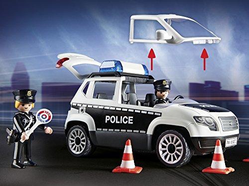 Poste de Police Playmobil 9372 Voiture Hélicoptère - 6