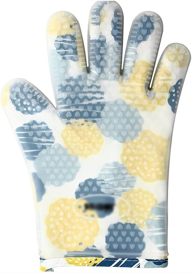 WGH Five-Finger Silicone Anti-Scald Double-Layer Heat-Resistant Sales of SALE Spring new work items from new works