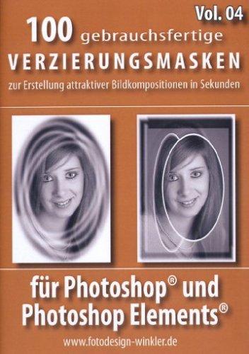 100 Verzierungsmasken für Photoshop Vol. 4