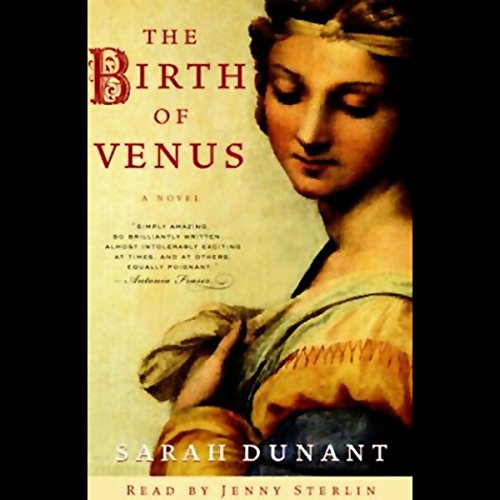 The Birth of Venus audiobook cover art