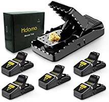 Mouse Trap, Mouse Traps That Work Mice Trap Outdoor Indoor Best Snap Traps for Mouse/Mice Safe and Reusable 6 Pack Quick...