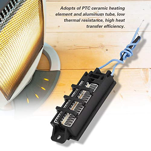 Calentador de aire de cerámica PTC, termostato eléctrico conductivo, temperatura constante para electrodomésticos generales, máquina de cortina de aire y humidificador
