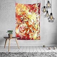 灼眼のシャナ タペストリー オシャレ 3 D印刷ウォールアート 多機能 ホーム装飾 個性 インテリア 壁飾り 背景布