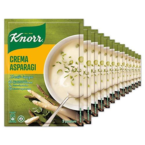 Knorr Crema Con Asparagi - Confezione Da 13 Pezzi - 1.18 kg