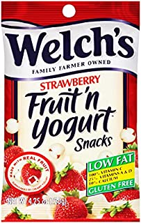 WELCH'S Fruit 'n Yogurt Snacks, Strawberry, 4.25 Ounce