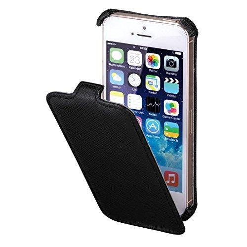 Hama Flap-Tasche Flap Case für Apple iPhone 5/5s schwarz