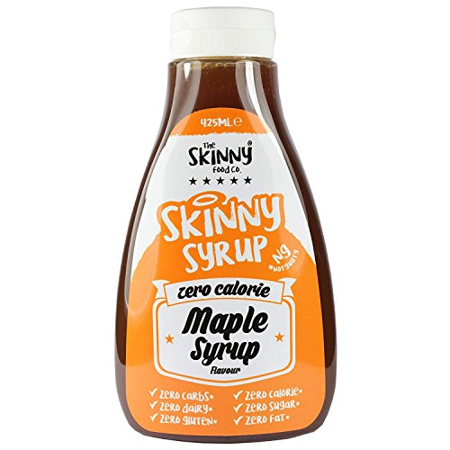 The Skinny Food dünne Sirup 425 ml (Ahornsirup)