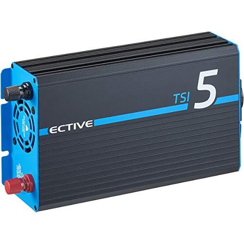 ECTIVE 500W 12V zu 230V Reiner Sinus-Wechselrichter TSI 5 mit integrierter NVS- und USV-Funktion