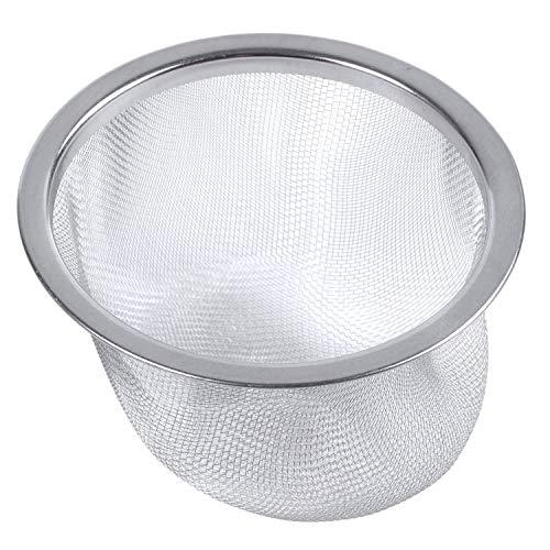 REFURBISHHOUSE Tetera de diametro de 80 mm Colador de Malla de te de Menta Hoja de Especias Cesta colador
