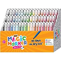 108-Count BIC Magic Marker Brand Brush Tip