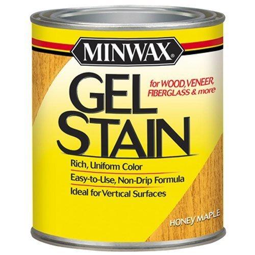 Minwax 66040-Qt Gel Stain-Hny Maple