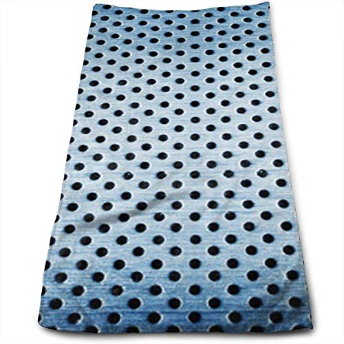 Yuanmeiju Hand Toallas Iron Clad in Bullets Highly Absorbent Quick Dry Toallas for Kitchen Gym and SPA 12' X 27.5'