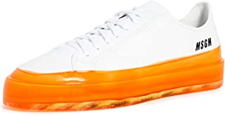 MSGM Men's Dipped Sole Sneakers