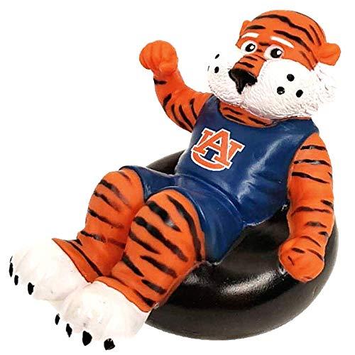 Rubber Tubbers Auburn University - Premium Bath Toy Collectible Sports Memorabilia - First Ever Collectible Line of Licensed Floating Collegiate Mascots (Auburn Aubie)