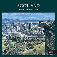 Scotland Poster Art National Railway Mus (Square Regional)