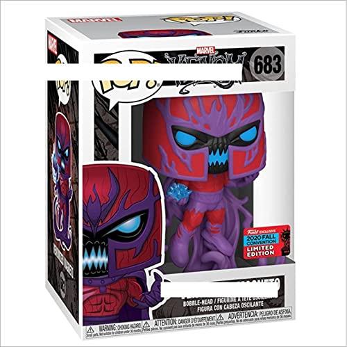Pop Marvel Venom Magneto 683 # Figura Vinilo Figuras De Acción Colección Modelo Juguetes Regalo