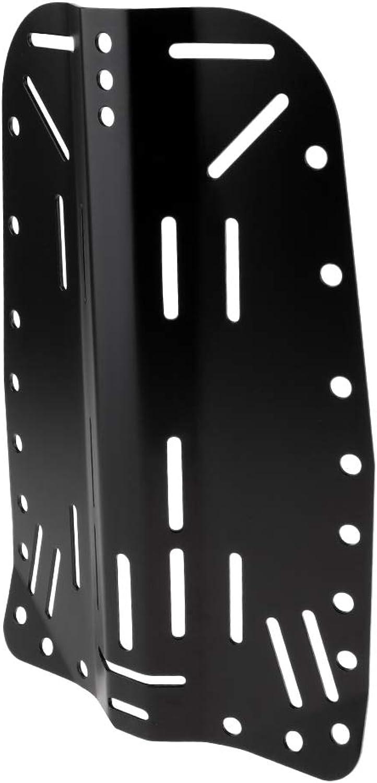 Baoblaze Universal Scuba Diving Aluminum Alloy Back Plate Backplate Dive BCD Harness