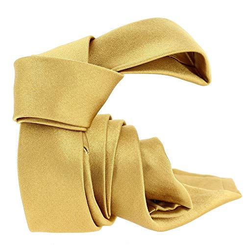 Segni et Disegni - Cravate Soie Segni Disegni Classic, Slim Or