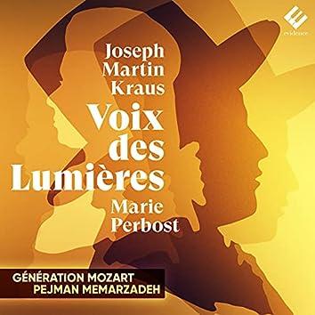 Joseph Martin Kraus: Voix des Lumières
