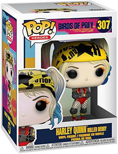 Birds of Prey Harley Quinn Roller Derby Vinyl Figure 307 Unisex Funko Pop! Standard