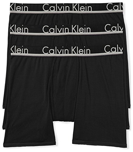 Calvin Klein Men#039s Comfort Micro Multipack Boxer Briefs Black/Black/Black Small