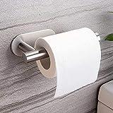 Ruicer Toilettenpapierhalter ohne Bohren, Klorollenhalter Selbstklebend Klopapierhalter Edelstahl für Bad Papierhandtuchhalter