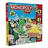 Monopoly Junior - Jeu de societe pour enfants - Jeu de plateau - Version française - La Chance Vous Sourit
