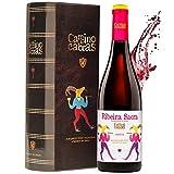 Vino Tinto Mencía Ribeira Sacra  Vino para Regalar   Estuche Vino Gallego   Producto Gourmet   Pack Regalo Vino   1 Botella x 750 ml CAMINO DE CABRAS   Regalo original Hombre & Mujer