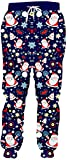 3dPant Pantalones de los Hombres 3D Impreso Preciosas de Santa pantalón Color Harajuku Santa Claus XXL