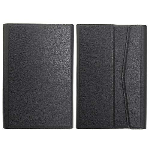20 x 14 x 2,2 cm, color negro universal pureza con funda plegable para tablet de 7 pulgadas