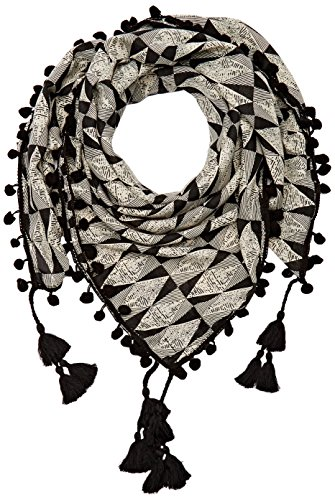 Le Temps des Cerises FHERBERA0000UNI Foulard, Gris (Anthracite), Unique (Taille Fabricant: UNI) Femme
