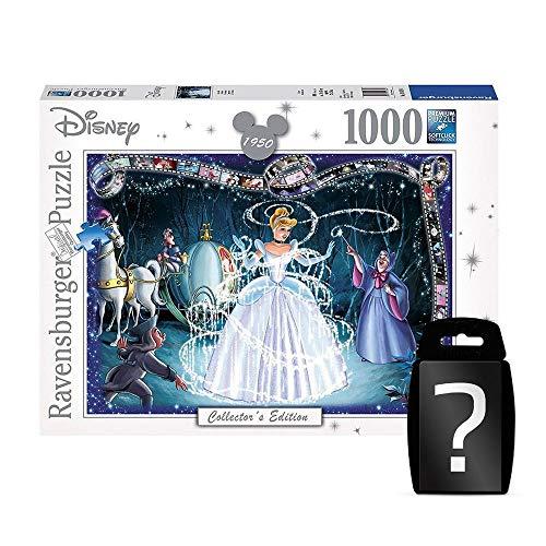 yvolve Disney - Cinderella - Puzzle - Offizielles Merchandise   Set inkl. Kartenspiel