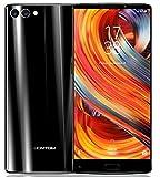 HOMTOM S9 Plus - 5,99 pollici (18: 9) Tri-bezelless schermo pieno Android 7.0 smartphone 4G, Octa Core 1.5GHz 4GB RAM 64GB ROM, fotocamera tripla (13MP + 5MP + 16MP), batteria 4050mAh - Nero