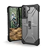 URBAN ARMOR GEAR UAG Designed for Samsung Galaxy S21 5G Case [6.2-inch Screen] Rugged Lightweight Slim Shockproof Transparent Plasma Protective Cover, Ice