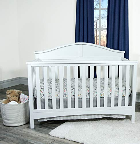 Suite Bebe Tanner 4-in-1 Convertible Baby Crib, White